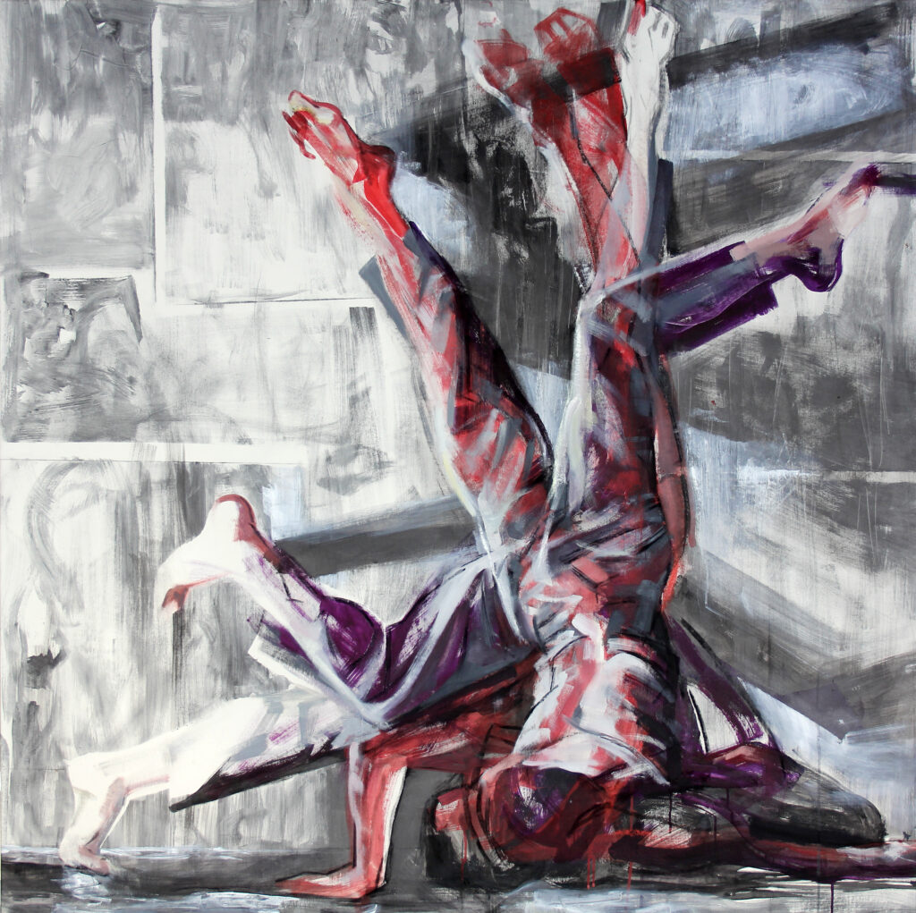 Mouvement 2014, 150 / 150cm, acrylique / toile