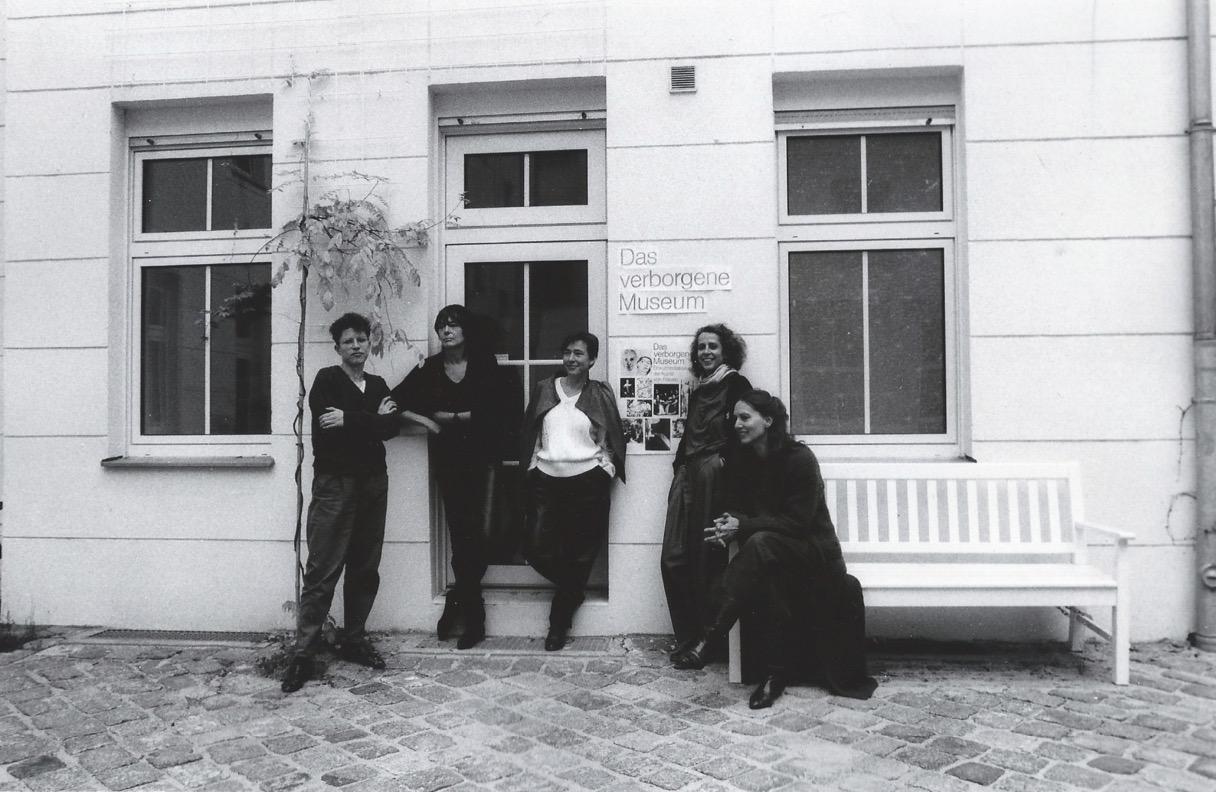 Birgit Kleber (Fotografin), Prof.,Dr. Tina Thürmer-Rohr (Dozentin), Evelyn Kuwertz (Malerin), Alexandra Goy (Anwältin), Gisela Breitling (Malerin, Autorin)